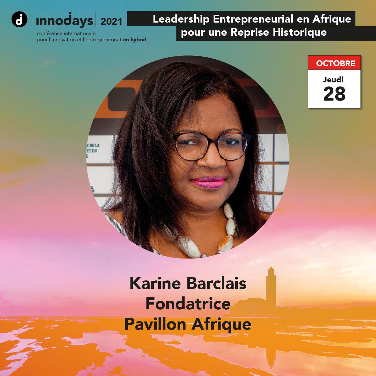 Karine Barclais - Foundatrice - Pavillon Afrique