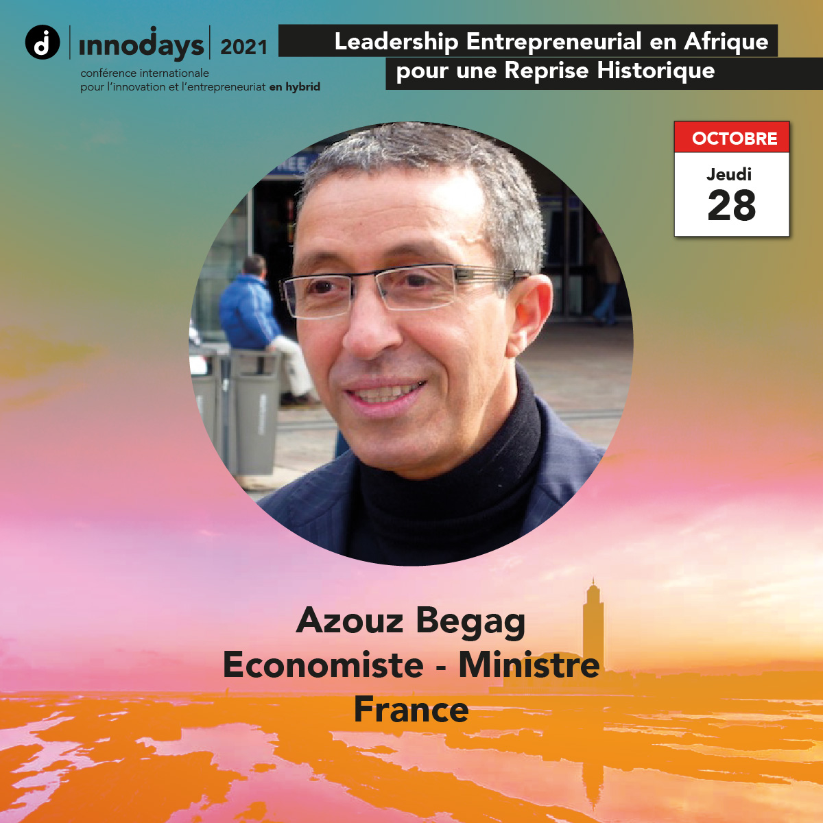 Azouz Begag - Economiste et Ministre - France