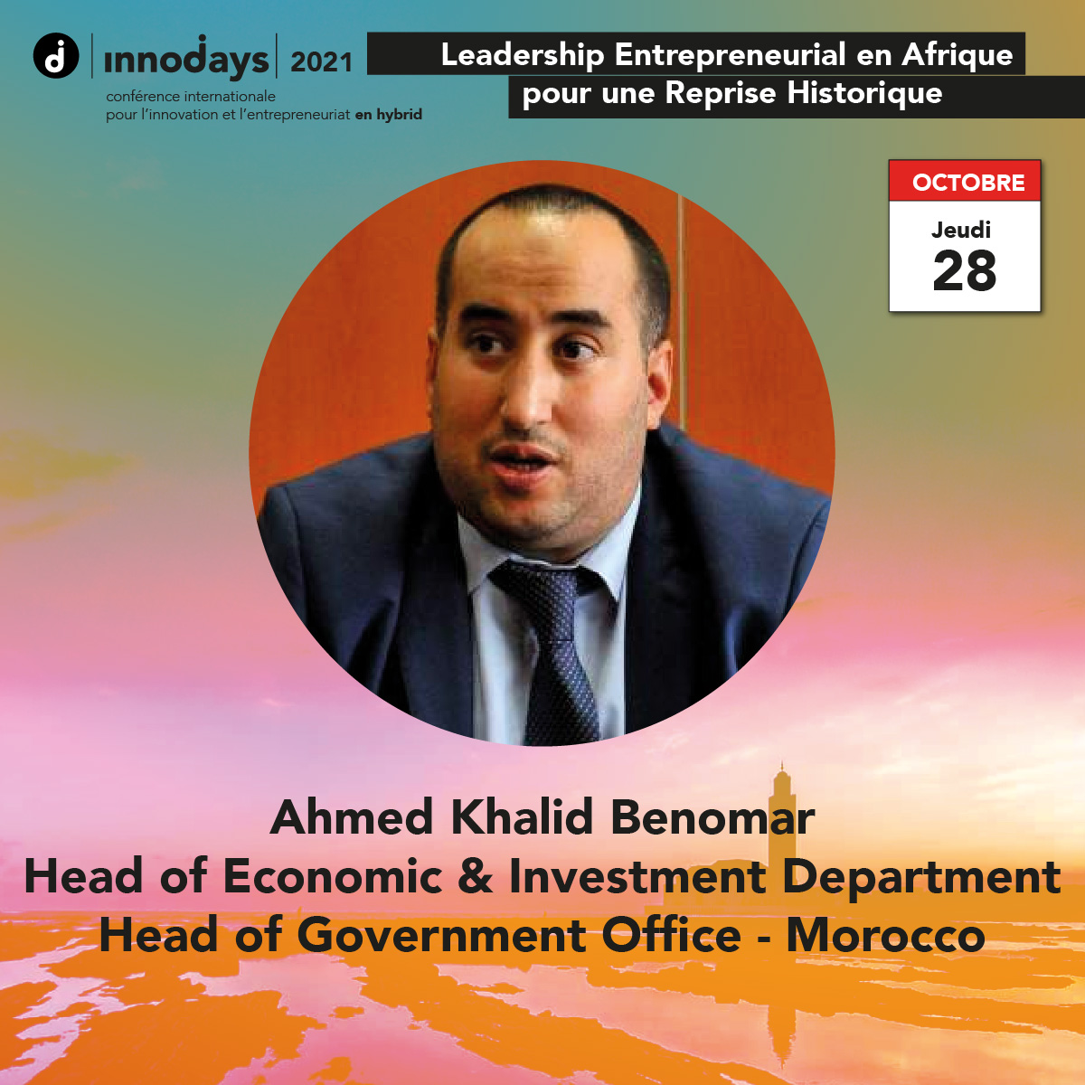 Ahmed Khalid Benomar - Head of Government Office - Moroccan Government