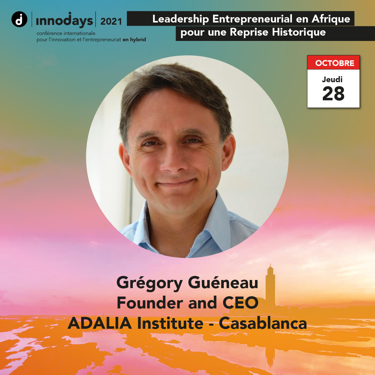 Grégory Guéneau - Fondateur et CEO - ADALIA Institute