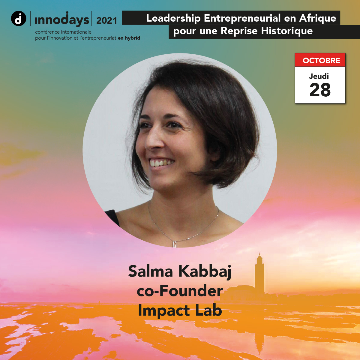 Salma Kabbaj - co-Founder - Impact Lab