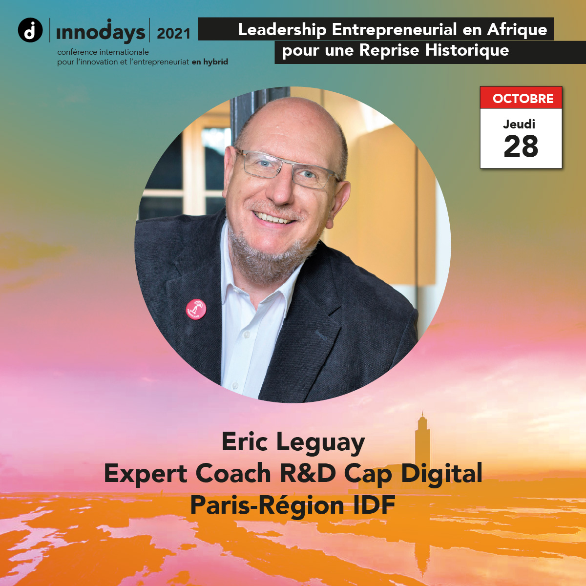 Eric Leguay - Expert Coach R&D Cap Digital - Paris-Région IDF