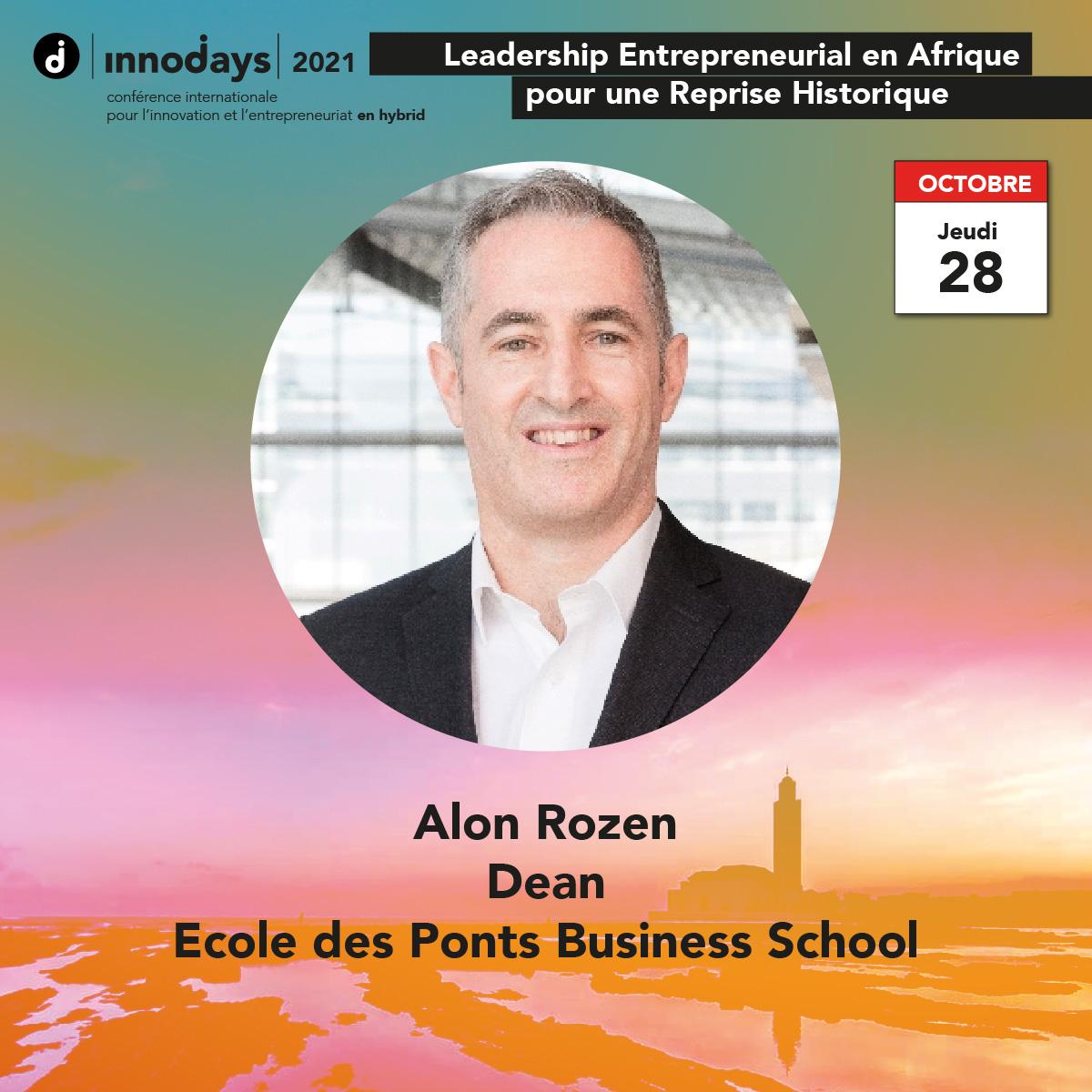 Alon Rozen - Dean - Ecole des Ponts Business School